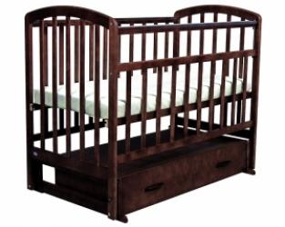 кровать детская фея 311 цвет полисандр арт.5516-05