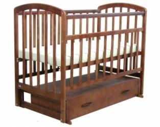 кровать детская фея 311 цвет орех арт.5516-02