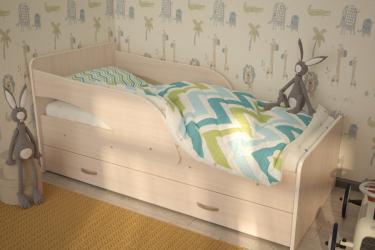 Кровать Максимка млечный