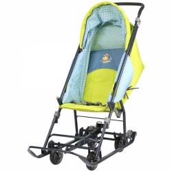 ника санки коляска disney baby1 тигруля лимонный
