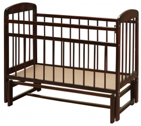 кроватка мишутка - 11 маятник темная
