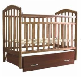 кровать детская алита-6 орех