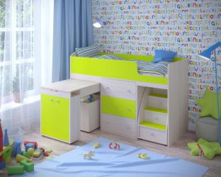 """Кровать чердак """"Малыш"""" 800*1800"""
