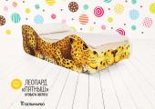 Кровать «Леопард - Пятныш»