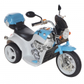 Электромотоцикл Aim Best голубой