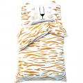 Постельное белье  1,5 сп Sleepy tiger
