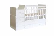 Кровать детская Фея 1100 белый