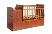 Кровать детская Фея 1100 орех