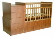 Кровать детская Фея 1200 бук