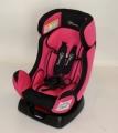 Автокресло с вкладышем, розовый 718-ЛУИ
