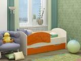Кровать Дельфин-3 оранжевый