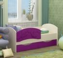 Кровать Дельфин-3 сирень