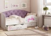 Кровать Эльза сиреневый