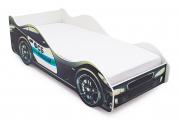 Кровать-машина ФСБ черный