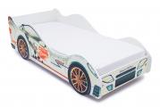 Кровать-машина Белая