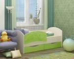 Кровать Дельфин-2 лайм