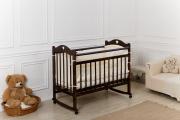 Кровать «Incanto Sofi» с сердечком, цвет венге, колесо-качалка
