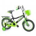 """Велосипед 14"""" зеленый"""