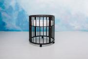 Круглая кроватка Меrry Happy Mini 6 в 1 венге