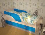 Кровать Максимка синий
