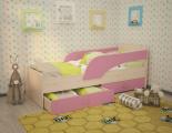Кровать Максимка розовый