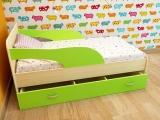 Кровать Максимка лайм