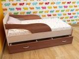 Кровать Максимка шимо светлый