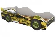 Кровать-машина Хаки зеленая