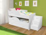 Выкатная кровать «Радуга» белый
