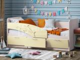Кровать Дельфин бежевый