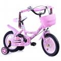 Велосипед 2-х колесный 12, розовый