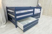 Кровать Сонечка графит