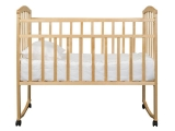 Кроватка Агат Золушка-1 колесо-качалка сл.кость
