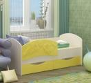 Кровать Дельфин-3 желтый